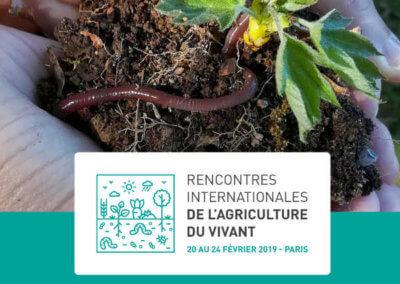Contributions à l'agriculture du vivant