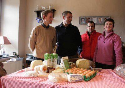 Etude et lancement d'une coopérative dans la vente de produits fermiers